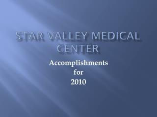 Star Valley medical center