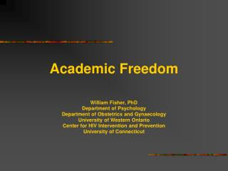 There is Far Too Little  Academic Freedom