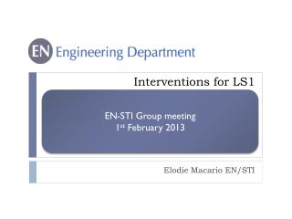 Interventions for LS1