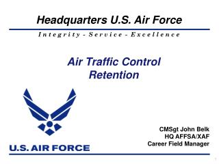 Air Traffic Control Retention