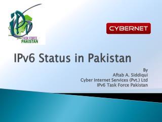 IPv6 Status in Pakistan