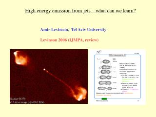 High energy emission from jets � what can we learn?