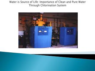 Water is Source of Life: Importance of Clean and Pure Water