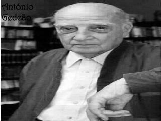 António Gedeão