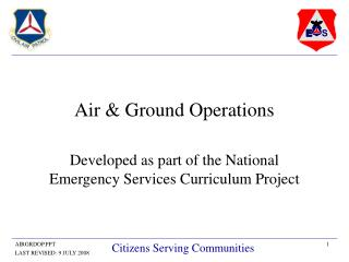 Air & Ground Operations