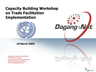 Capacity Building Workshop on Trade Facilitation Implementation