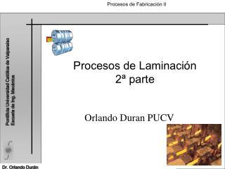 Procesos de Laminación 2ª parte
