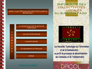 Le concept du portail de gestion de l'information