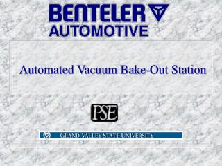 Automated Vacuum Bake-Out Station