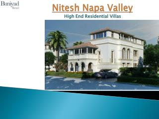 Nitesh Napa Valley at off. Bellary Road Bangalore