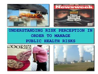 UNDERSTANDING RISK PERCEPTION IN ORDER TO MANAGE  PUBLIC HEALTH RISKS