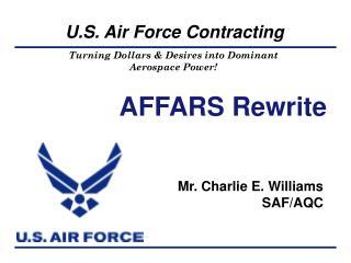 AFFARS Rewrite