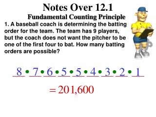 Notes Over 12.1