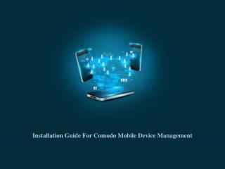 Step by Step installation Guide for CMDM