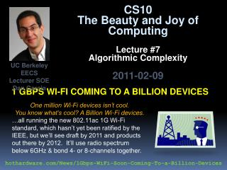 1  Gbps wi-fi  coming to a billion devices