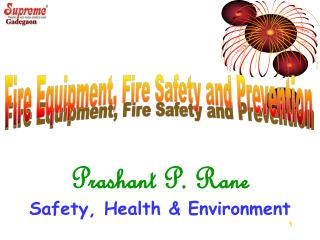 Prashant P. Rane Safety, Health & Environment