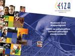 Nemzeti Civil Alapprogram  2009-es p ly zathoz tartoz  p nz gyi elsz mol sr l
