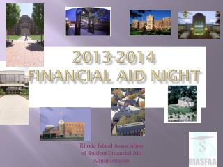 2013-2014 Financial Aid Night