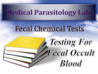 Medical Parasitology Lab.