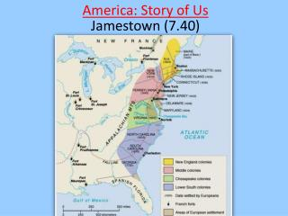 America: Story of Us Jamestown (7.40)