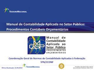 Manual de Contabilidade Aplicada no Setor Público:  Procedimentos Contábeis Orçamentários