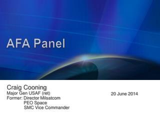 AFA Panel