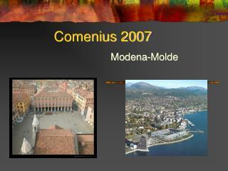 Comenius 2007