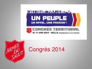 Congrès 2014