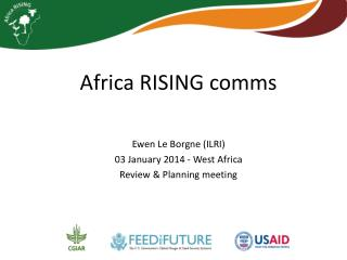 Africa RISING  comms