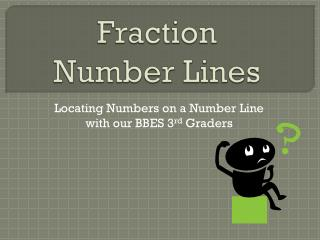 Fraction  Number Lines