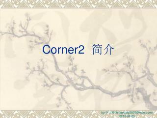 Corner2   简介