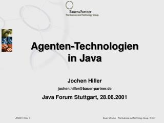 Agenten-Technologien in Java