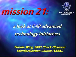 Florida Wing 2003 Check Observer  Standardization Course (COSC)