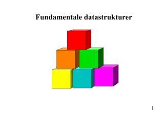 Fundamentale datastrukturer