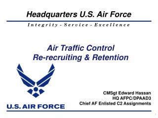 Air Traffic Control Re-recruiting & Retention