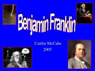 Caitlin McCabe 2005
