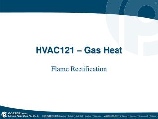 HVAC121 � Gas Heat