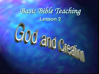 God and Creation