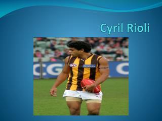 Cyril  Rioli