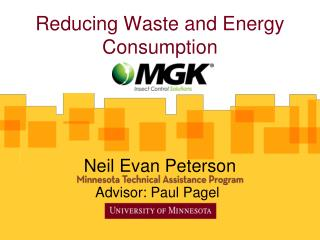 Reducing Waste and Energy Consumption