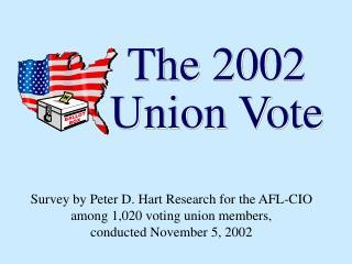 The 2002 Union Vote