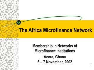 The Africa Microfinance Network