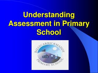 Understanding Assessment in Primary School