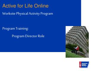 Active for Life Online