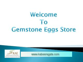 Wholesale Gemstone Eggs UK