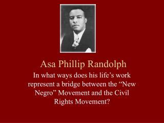 Asa Phillip Randolph