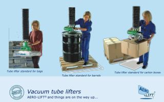 Vacuum tube lifters
