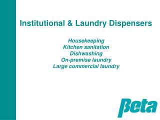 Housekeeping: BetaJet