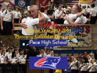 J-LEAD School Year 2003-2004 Planning Calendar Development
