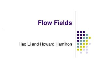 Flow Fields